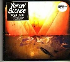 (DG908) Yukon Blonde, Tiger Talk - 2012 sealed CD