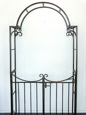 FRENCH PROVINCIAL GARDEN  with GATE ARCH ARBOR TRELLIS  QUALITY  NEW