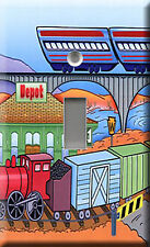Trains Single Light Switch Plate Cover