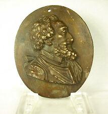 Profile D'Henri IV de France Bourbon Dynasty Capétienne.ép. Xixth 21 CM 1539 G