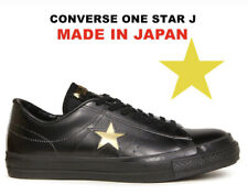 ''Made in Japan'' Converse One Star J Leather Black x Gold Limited From Japan