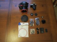 Olympus PEN E-PM1 camera with PT-EP06 underwater housing - lot