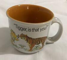 Disney Animal Kingdom Is That You Tigger Mug  Winnie the Pooh Orange 16 oz