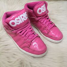 OSIRIS PINK CONVOY MID Girls Size US 7.5 (EUR 38) BASKETBALL/SKATE SHOES