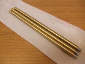 Light Fixture Extension Rod Set Threaded 1/8 Pendant Brass Gold Bronze Mount