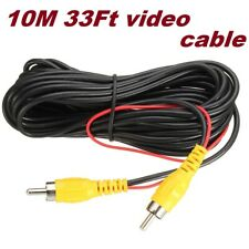 10M 32Ft Car Video RCA Extension Cable Detection Wire for Auto Rearview Camera