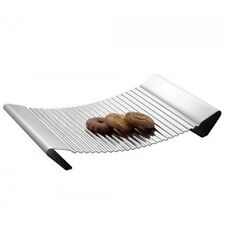 Biscuit Cookie Tray Stainless Steel Food Server Platter Serving Hostess Dish New