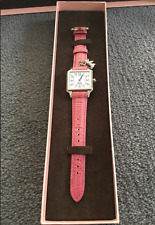 GENUINE JUICY COUTURE  PINK LEATHER STRAP WITH CHARM