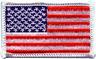 100United States di America Forze Armate Ufficiale Uniforme Bandiera Patch