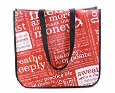 Lululemon Reusable Gift Shopping Bag One Large Tote Manifesto Recycle