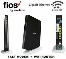 NEW Verizon Fios Quantum Gateway 4-Port Wi-Fi Router - Black (FIOS-G1100)