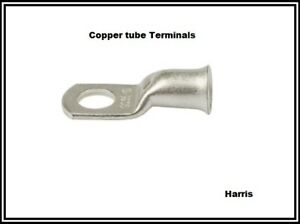 Copper Tube Crimp Terminals - Battery Cable Lugs/ Eyelets Various Sizes