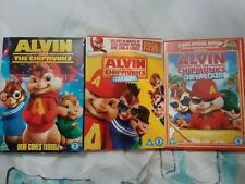Alvin And The Chipmunks, The Squeakquel And chipwrecked dvds
