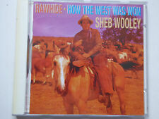 STEP WOOLEY * Rawhide / How The West Was Won * NM (CD)