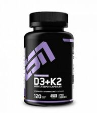 ESN Vitamin D3 + K2, 120 Kapseln