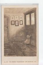 Real Photo Postcard Swedish Tercentary Art Exhibition Chicago IL ILL No 337