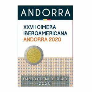 Andorra 2 euros 2020 Cimera Iberoamericana - en blister original -