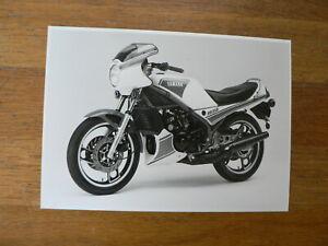 YAMAHA PRESSE PHOTO 1983 RD350 RD 350 MOTORCYCLE BIKE MOTORRAD ? Y401