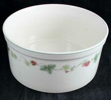 "Wedgwood RASPBERRY Queen's Ware Souffle 7 3/4"" diameter GREAT CONDITION"