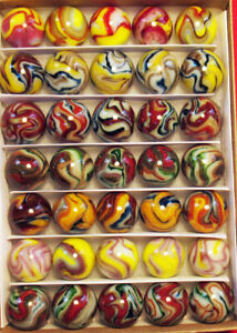 Collector Box 35 Mint JABO WVMCC Marbles . Outstanding!!!