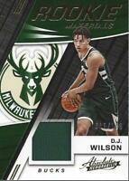2017-18 Absolute Memorabilia Rookie Materials #RM-DJW D.J. Wilson /199 - NM-MT