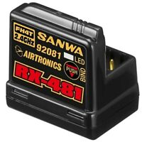 Airtronics Sanwa 4-channel RX481 Receiver w/ built-in Antenna RX-481
