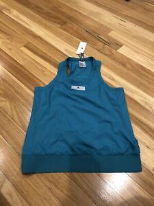Adidas Stella McCartney Teal Green Fashion Or Running Tank. Size S