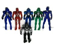 Power Rangers Jungle Fury Action Figures Toys Bandai Bundle Of 6  Size 15cm 2007