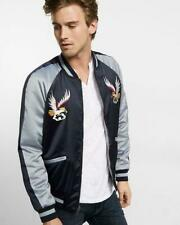 nwt EXPRESS embroidered souvenir jacket bomber s small
