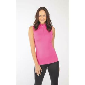 Shires Aubrion Westbourne Sleeveless Baselayer - Ladies in Pink