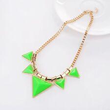 Fashion Charm Pendant Chain Crystal Jewelry Choker Chunky Statement Bib Necklace New31 PK