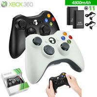 Wired / Wireless Game Controller Gamepad for Microsoft XBOX 360 & PC WIN 7 8 10