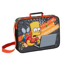 BART Simpson Valigetta Scuola Viaggio Vacanze ragazzo Borsa a Tracolla Messenger pwned