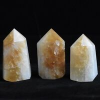 CLEARANCE! (1) Large Polished Citrine Quartz Crystal Generator Point, Brazil