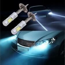 2x H1 High Power COB Car White LED Fog Driving Light Head Lamp Bulb 6000K DC 12V