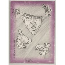 Breygent Wizard of OZ WOZ Series 1 Martineck Pencil Sketch Card WWW Witch