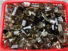 8-10pcs Natural Smoky Quartz Black Crystal CITRINE WAND Point Polished Brazil