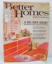 Better Homes and Gardens Magazine - A Big Idea Issue (1964)