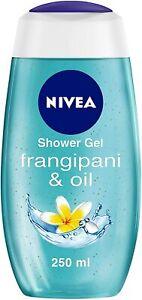 NIVEA Shower Gel, Frangipani & Oil Body Wash, Women, 250ml Pack of 1