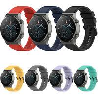 22mm Silikon Armband Uhrenarmband für Huawei Watch GT2 Pro/Honor Watch GS PRO