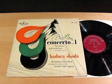 BADURA SKODA Beethoven Concerto No.1 SCHERCHEN Westminster WL-5209 Mono NM-