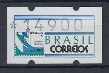 Brasilien ATM BRASILIANA'93, Mi.-Nr. 5 Wert 14900 mit Plattenfehler XXI **