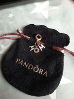 New Pandora Genuine Mum Letters Dangle Two Tone Colour  Charm  S925 ALE