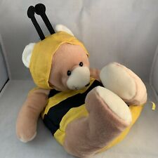 Mary Kay Plush Bear in Bee Costume Kids Bag With Crayola Coloring Kit Inside