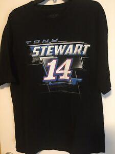Lot of 3 Short Sleeve Tony Stewart Shirts (Size XL, Various Colors)