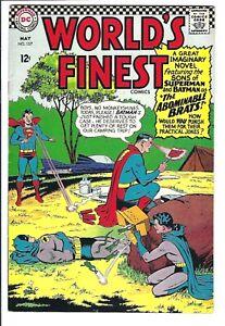 World's Finest #157 VF-NM DC Silver Age 2nd Super Sons/1st Bat-Mite Jr.