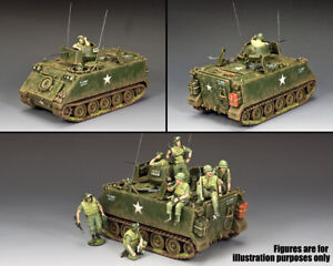 KING & COUNTRY VIETNAM WAR VN072 U.S. ARMY M113 ARMORED PERSONNEL CARRIER MIB