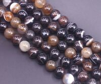 90186616-766 FREE USA Ship 16mm Brown Volcanic Lava Gemstone Grade AA Flat Round Button Loose Beads 16 inch Full Strand