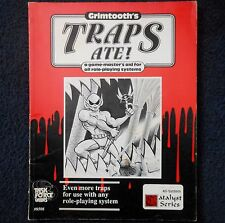 Grimtooth'S trappole mangiato Advanced Dungeons and Dragons Avventura D&D RPG Modulo 8508
