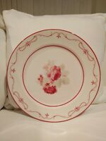 Waverly Garden Room Vintage Rose Set 4 Dinner Plates 11""